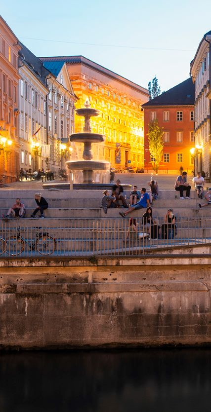 Explore the vibrant heart of Ljubljana's centre.