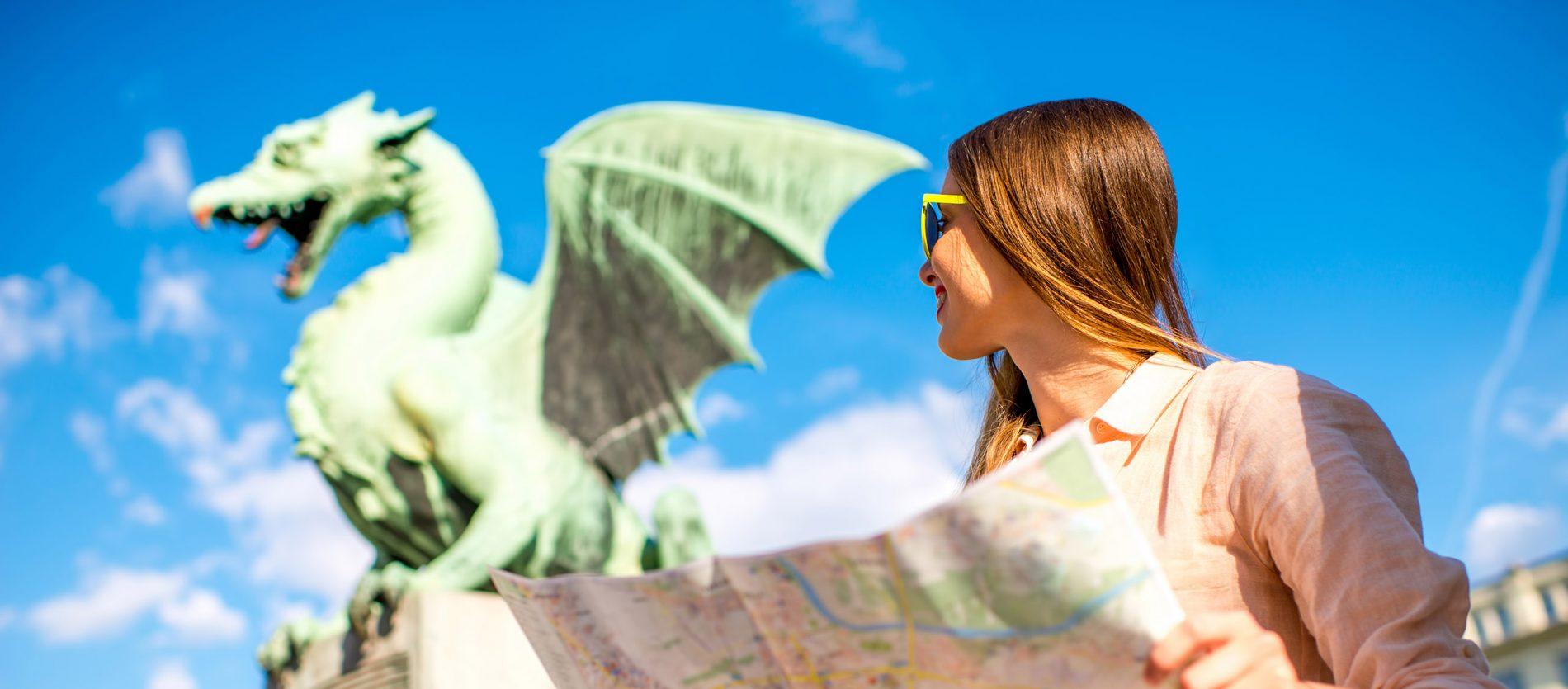 Go on a thrilling adventure with Ljubljana's dragon!